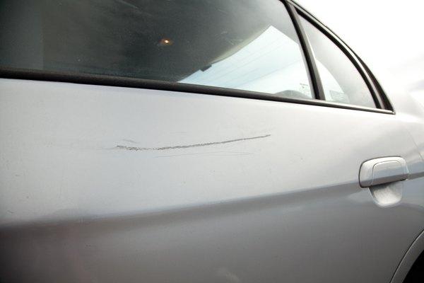 Fixing Paint Runs On Car