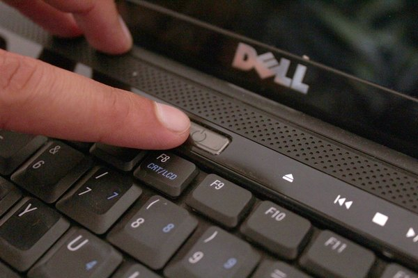 How to reset a dell laptop computer