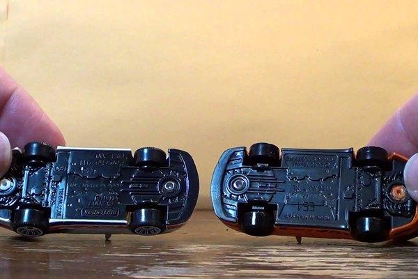 Los autos Hotwheels y Matchbox tienen diseños diferentes.