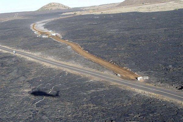 imagen aérea de la Ruta 200