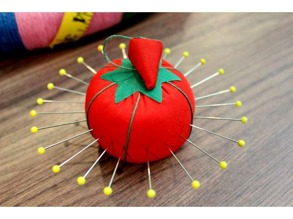 Make a pin cushion starburst