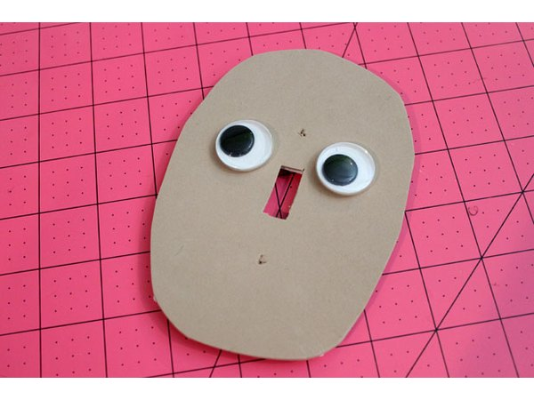Glue on googly eyes