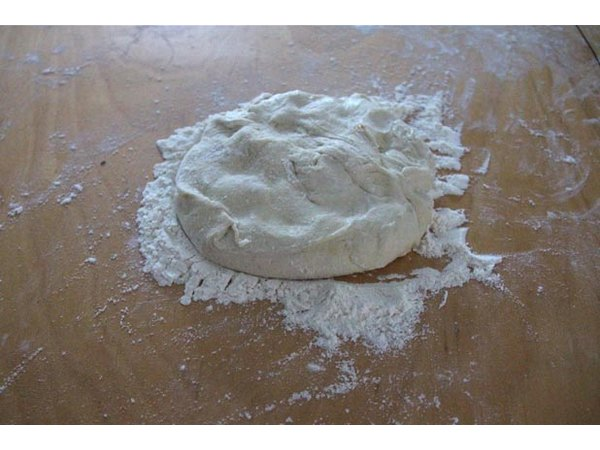 Create your own pizza dough with a favorite recipe.