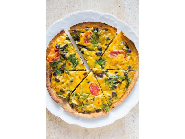 Thanksgiving Leftovers Quiche - immaeatthat.com