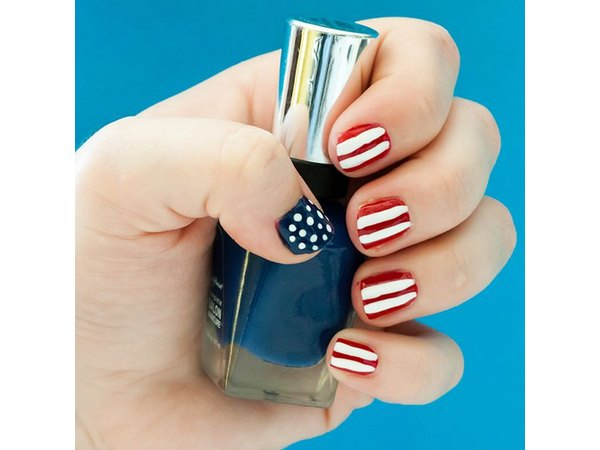 Get patriotic with your nail polish.