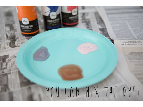 Try mixing colors for a custom creation.