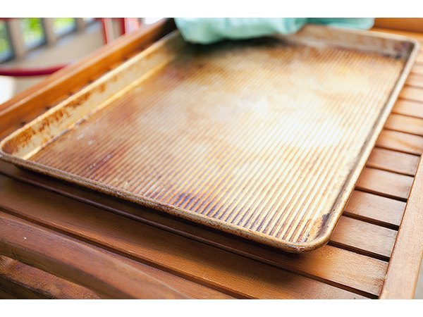 Sheet pans with a lip help prevent post-grilling spills.