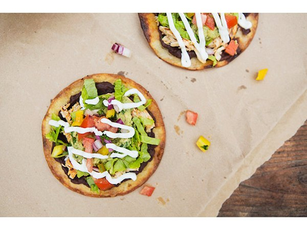 Build-Your-Own Tostada Bar