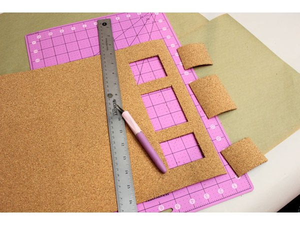 Cut openings along the edges