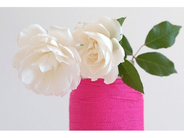 Do you have a blooming backyard garden? Showcase your flowers with these stylish DIY vases.