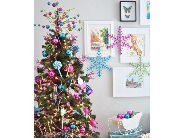 This whimsical tree is perfect for kids.
