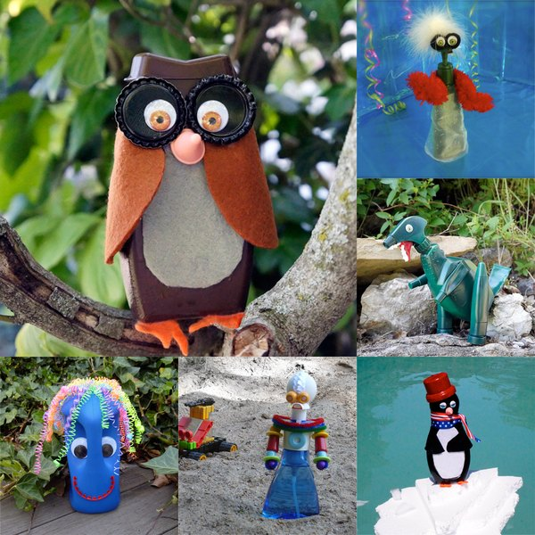 Ideas For Easy Plastic Bottle Animals Ehow