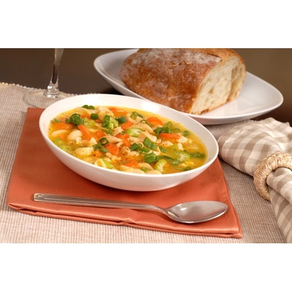 A flavorful chicken soup is easy to throw together.