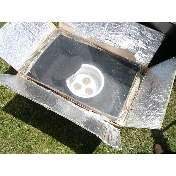 Use a homemade solar oven to bake cookies.