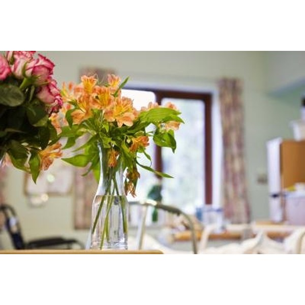 Amateur floral arranging can be a quick home project.