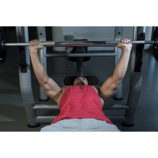 Bench Press Person: Bench Press With Perfect Form