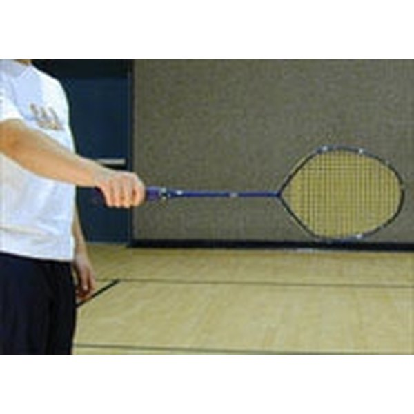 Grip the Racket in Badminton