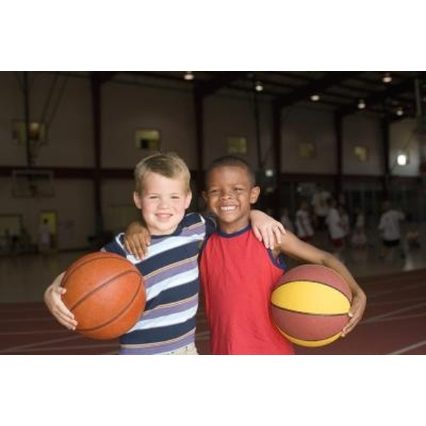 Sports teams are a great way for children to build lasting friendships.