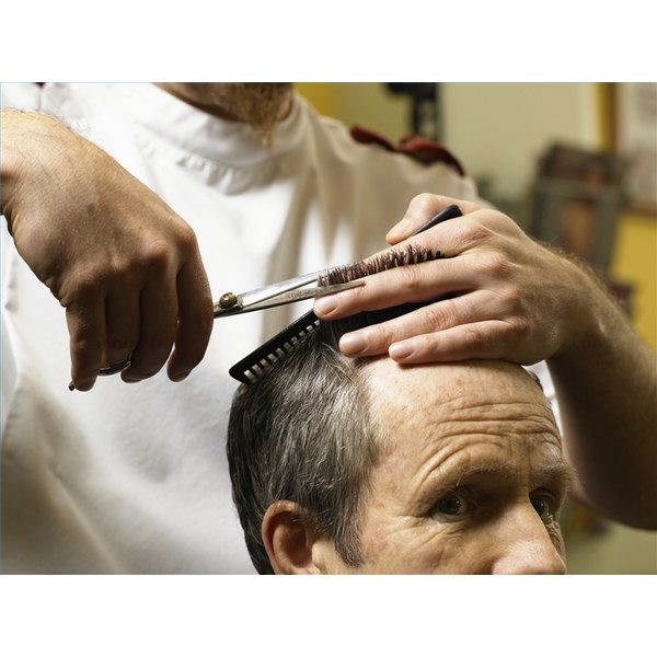 Create Volume and Texture With Scissors When Cutting Hair
