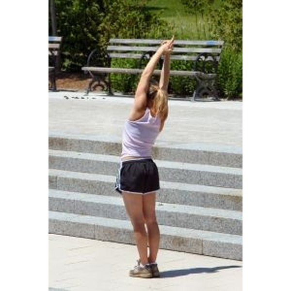 Stretch to prevent cramps in hot weather.