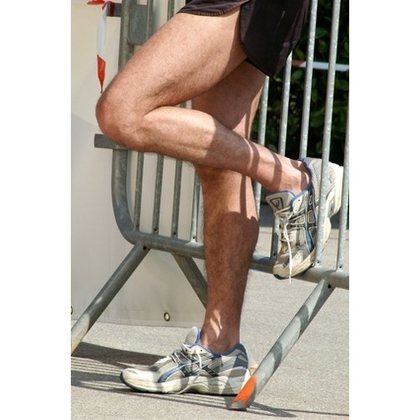 Learn to properly treat a strained calf muscle.