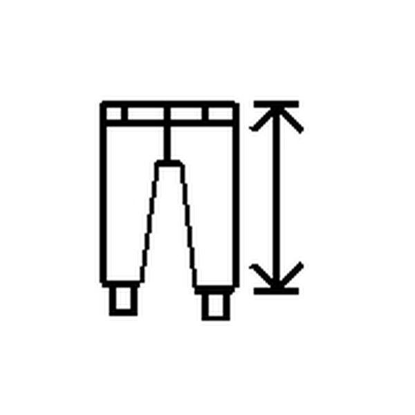 measuring the outside leg