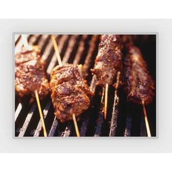 Marinades help even small pieces of meat stay tender through grilling.
