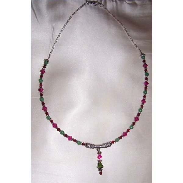 Handcrafted bead necklace