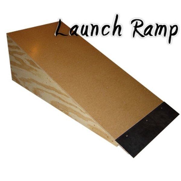 Launch Ramp for Bicycles and Skateboards
