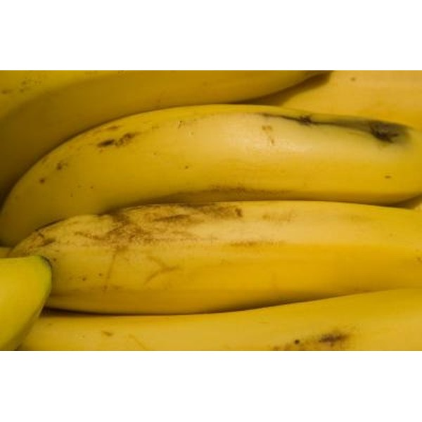 Stages of a Ripening Banana