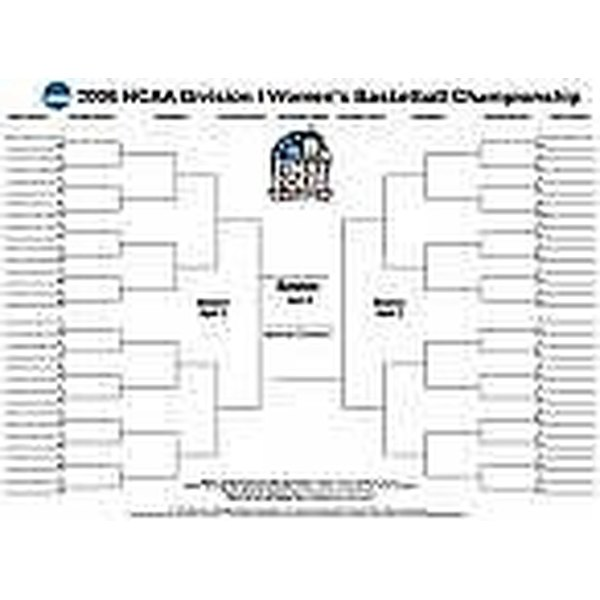 Make Free Blank Tournament Brackets