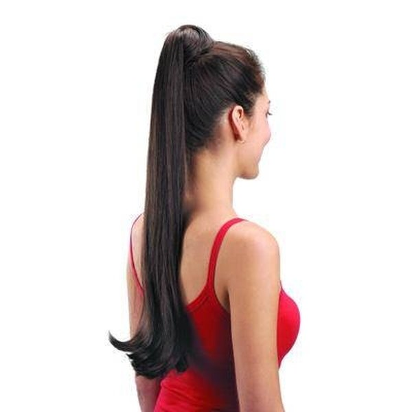 Ponytail Made With hair Extensions