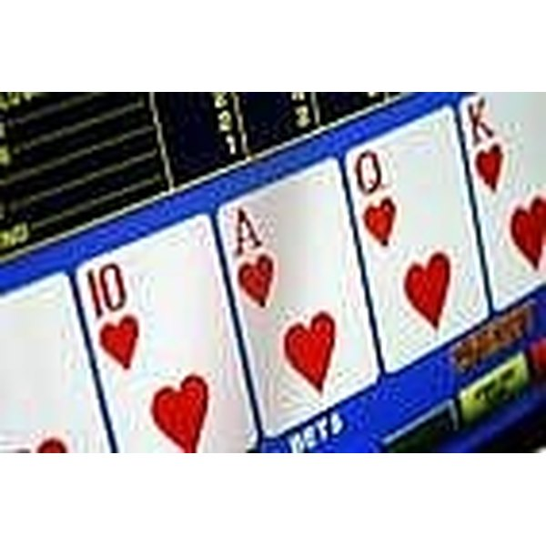 Royal Flush In Video Poker