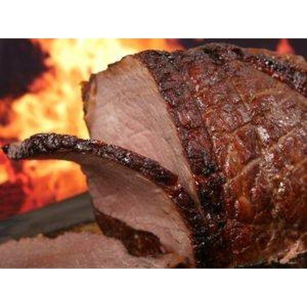 BBQ the Eye of Round Roast