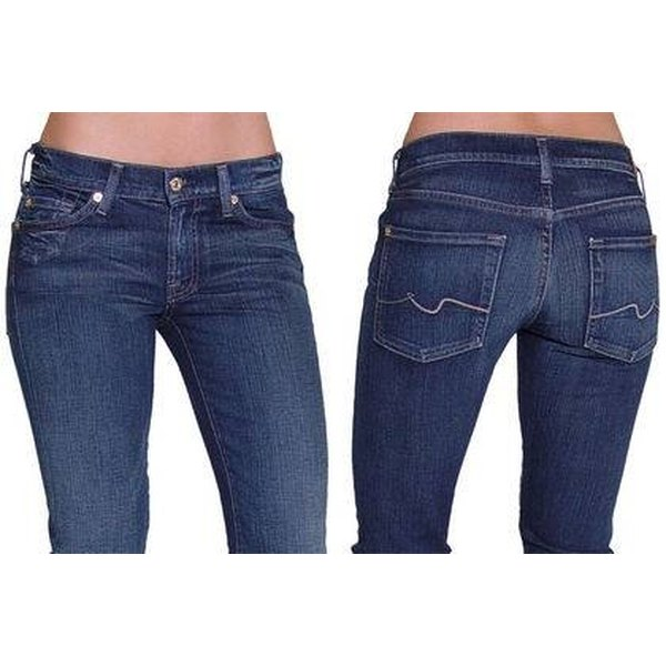 Spot Fake 7 For All Mankind Jeans