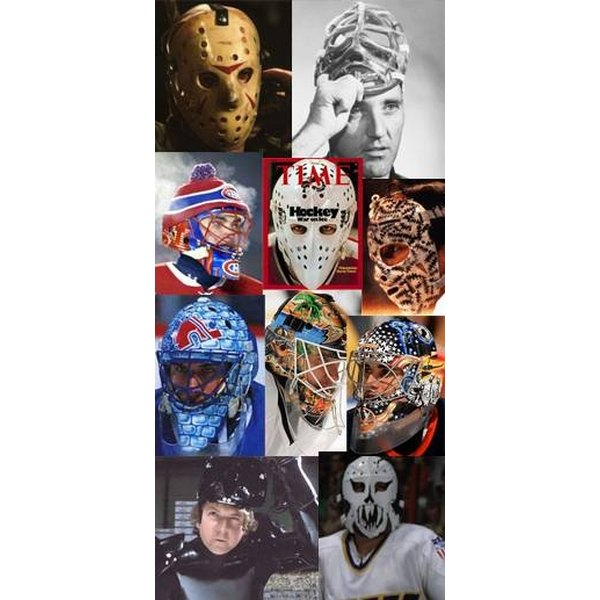 How to paint a goalie helmet healthfully goalie masks are often painted with very fine details maxwellsz