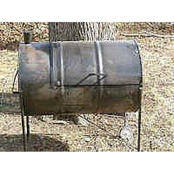 Build a 55 gallon drum grill