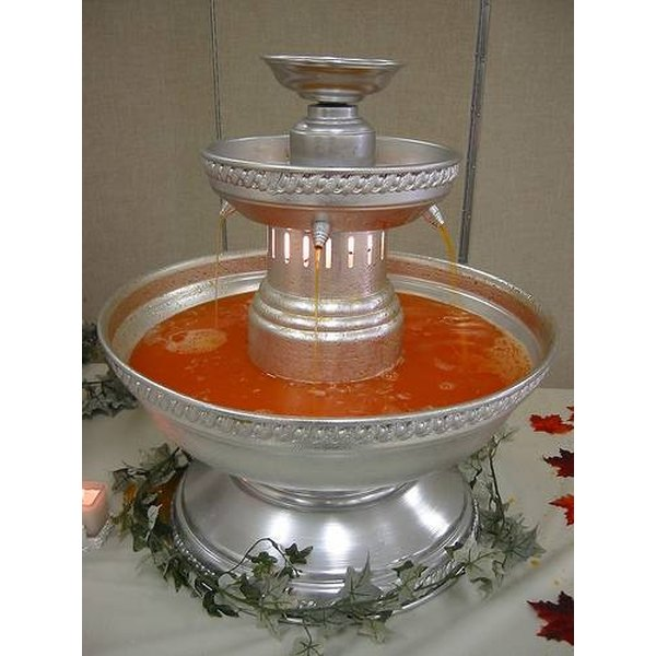 Beverage fountains are a great, attractive way to serve drinks