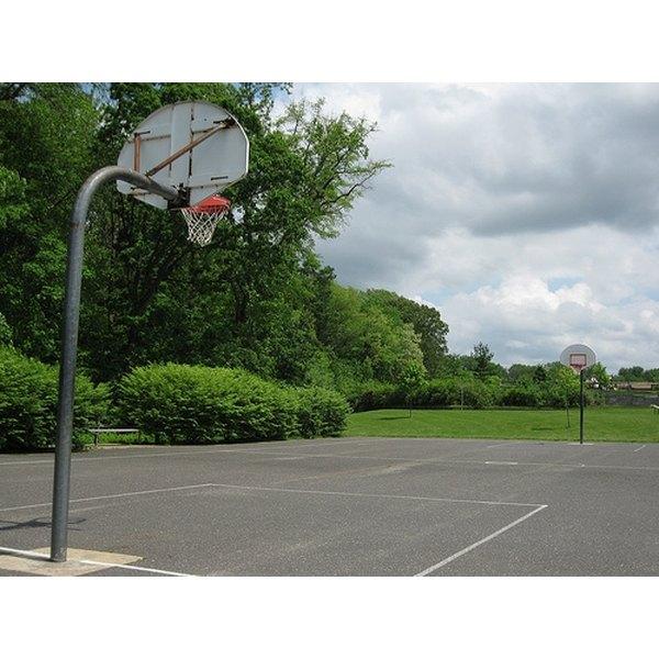 Build A Backyard Basketball Court