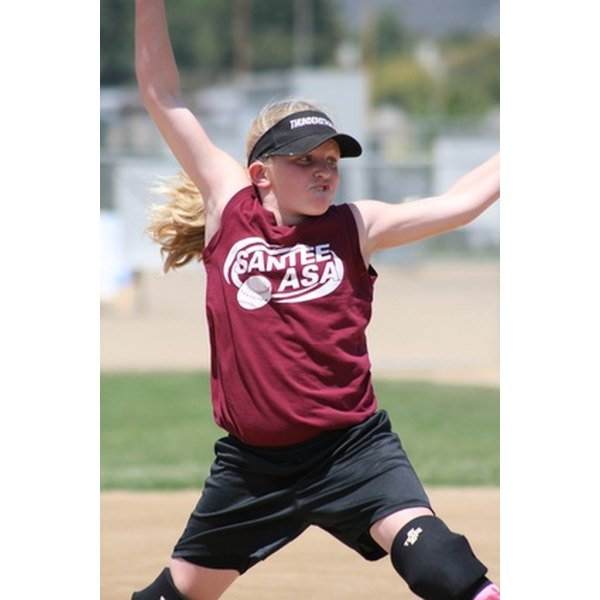 Rules prohibit softball pitchers from gaining unfair advantages.