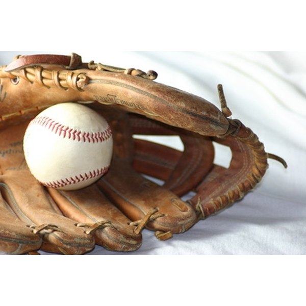 Use a regular baseball when breaking in your glove.