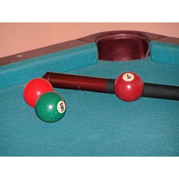 Pool tables can be coin operated.