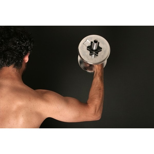 Lifting weights to tone your arm muscles will help you lose fat in your arms.