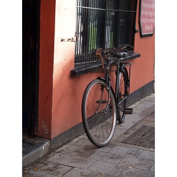 Kickstands make it easier to park your bike.