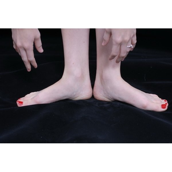 Turn your feet out comfortably during the Callanetics leg series.