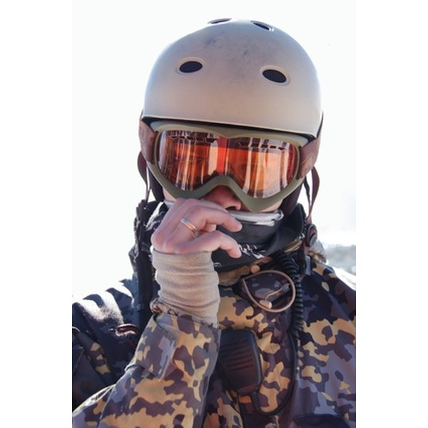 A faded or scratched ski helmet can be repainted.