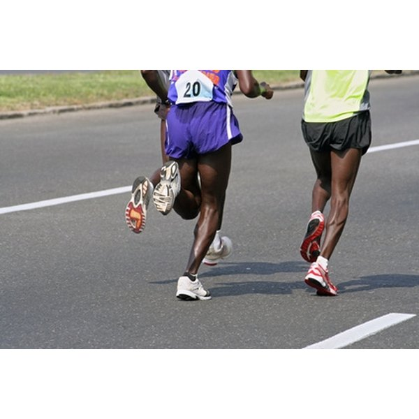 Developing your calf musles is good for running.