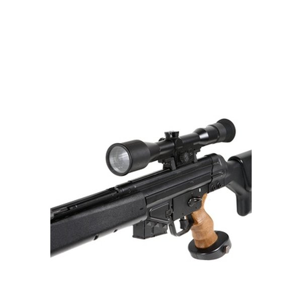 Minute of angle is a common measurement used to help calibrate a sighting scope on a rifle.