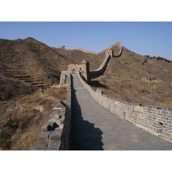 How to: Easy Great Wall Models for School Projects