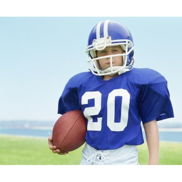 Get youth football players excited for the game with homecoming activities.